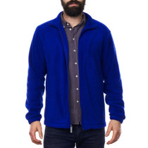 Alpine Swiss Trent Mens Full Zip Up Fleece Jacket