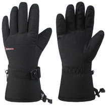 Alpine Swiss Mens Waterproof Gauntlet Ski Gloves Winter Sport Snow Board Windproof 3M Thinsulate