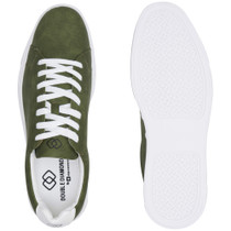 Alpine Swiss Ben Mens Perforated Low Top Sneakers
