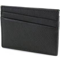 Alpine Swiss Front Pocket Wallet Minimalist Super Thin 5 Card Wallet Genuine Leather