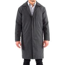 Alpine Swiss Zach Mens Overcoat Wool Trench Coat Knee Length RUNS LARGE