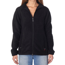 Alpine Swiss Jane Womens Full Zip Soft Polar Fleece Jacket