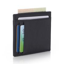 Alpine Swiss RFID Front Pocket Wallet ID Card Case