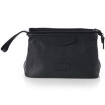 Alpine Swiss Lauter Toiletry Bag Genuine Leather Shaving Kit Dopp Kit Travel Case