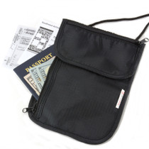 Alpine Swiss Travel Wallets Neck Pouch Under Clothing Security Stash