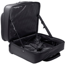 Alpine Swiss Rolling Laptop Briefcase Wheeled Overnight Carry on Bag Up to 15.6 Inches Notebook - Carries Legal Size Files + Sono Travel Safety Cleaning & Disinfectant Kit