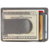 Alpine Swiss RFID Dermot Money Clip Front Pocket Wallet For Men Leather Comes in a Gift Box
