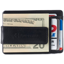 Alpine Swiss Harper Mens RFID Money Clip Wallet Minimalist Slim ID Card Holder Front Pocket Wallet Leather