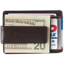 Alpine Swiss Harper Mens RFID Money Clip Wallet Minimalist Slim ID Card Holder Front Pocket Wallet Leather