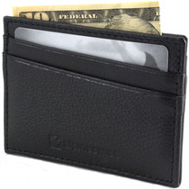 RFID Blocking Minimalist Wallet Flat Card Case By Alpine Swiss