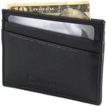 RFID Blocking Minimalist Wallet Flat Card Case By Alpine Swiss