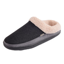 Alpine Swiss Paul Mens Memory Foam Fleece Clog Slippers House Shoes
