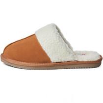 Alpine Swiss Lucy Womens Genuine Suede Memory Foam Scuff Slippers