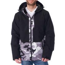Alpine Swiss Mens Waterproof Ski Jacket Hooded Snowboarding Coat Warm Winter Snow Jacket Raincoat