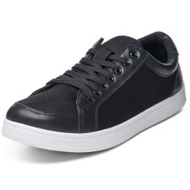 Alpine Swiss Craig Mens Fashion Sneakers Retro Lace Up Low Top Tennis Shoes