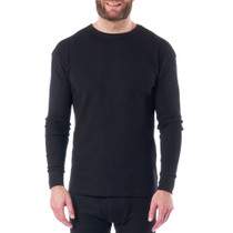 Alpine Swiss Mens Thermal Long Sleeve Top Underwear Crew Neck Shirt Waffle Henley Base Layer