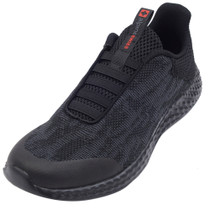 Alpine Swiss Troy Mens Mesh Knit Slip On Sneakers Athletic Lightweight Tennis Shoes