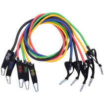 Alpine Swiss Exercise Resistance Bands Set with Handles, Door Anchor, Ankle Straps and Carry Bag for Men and Women