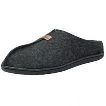 Alpine Swiss Bruce Mens Felt Faux Wool Clog Slippers Comfortable Slip On House Shoes