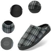 Alpine Swiss Peter Mens Memory Foam Wide Fleece Clog Slippers Slip On House Shoes