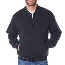 Alpine Swiss Tyler Mens Varsity Baseball Jacket Casual Letterman Bomber Jacket