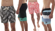 Alpine Swiss Mens Boardshorts Swim Trunks Hybrid Short With Pockets
