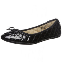 Alpine Swiss Womens Patent Leather Aster Slip On Ballet Flats