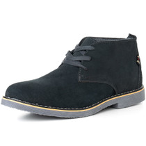 Alpine Swiss Beck Mens Genuine Suede Chukka Boots