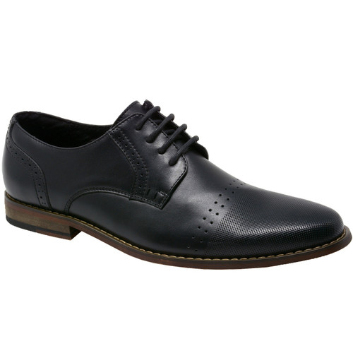 Double Diamond By Alpine Swiss Mens Genuine Leather Lace up Oxfords Dress Shoes