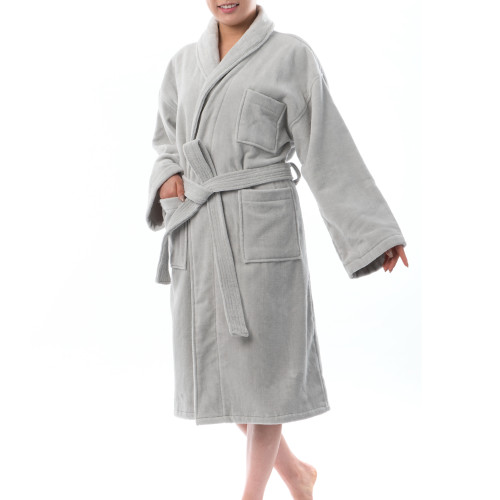 19f3175b8a Alpine Swiss Blair Womens Cotton Terry Cloth Bathrobe Shawl Collar ...