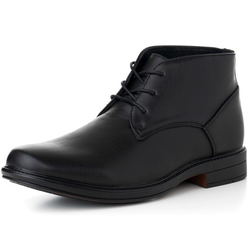 Alpine Swiss Mens Leather Lined Dressy Ankle Boots