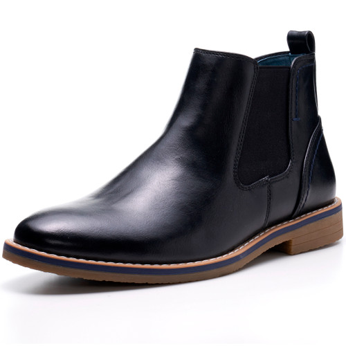 Alpine Swiss Mens Owen Chelsea Boots Pull Up Ankle Boots