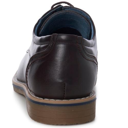 Alpine Swiss Neil Snakeskin Derby Oxford Lace Up Dress Shoes
