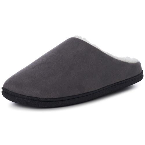 Alpine Swiss Renald Mens Memory Foam Clog Slippers