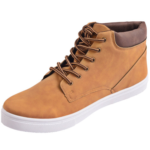 Alpine Swiss Keith Mens High Top Fashion Sneakers Lace up Casual Boots