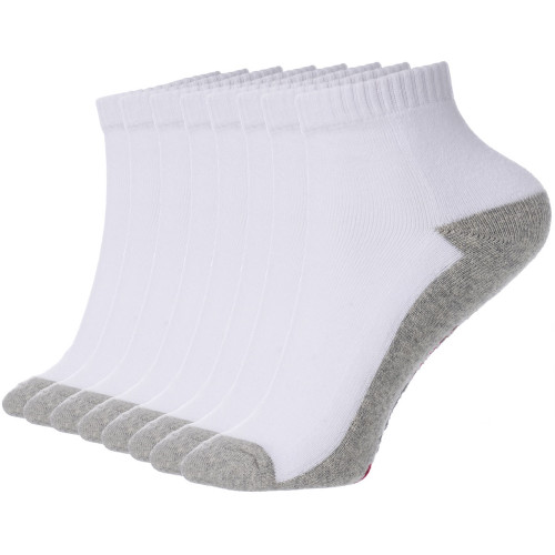 Alpine Swiss Mens 8 Pack Cotton Ankle Socks Athletic Performance Cushioned Socks Shoe Size 6-12