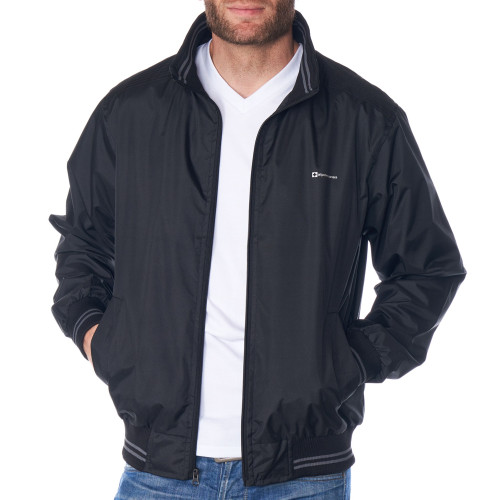 Alpine Swiss Alvin Mens Lightweight Bomber Jacket Casual Windbreaker Varsity Jacket