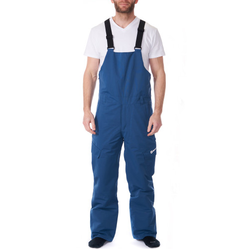 Alpine Swiss Mens Insulated Snow Bib Overalls Waterproof Winter Ski Snowboard Pants