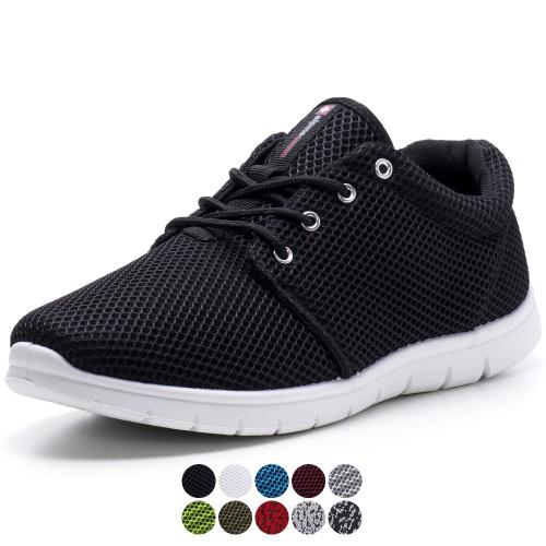 Alpine Swiss Kilian Mesh Sneakers Breathable Lightweight Fashion Trainers