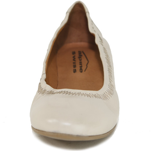new photos purchase cheap good out x Alpine Swiss Womens Shoes Ballet Flats Genuine European Leather ...