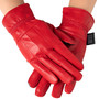 Alpine Swiss Womens Touch Screen Gloves Leather Phone Texting Thermal Glove