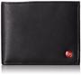 Alpine Swiss Mens Leather Bifold Wallet Removable Flip Up ID Window