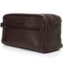 Alpine Swiss Sedona Toiletry Bag Genuine Leather Shaving Kit Dopp Kit Travel Case + Sono Travel Safety Cleaning & Disinfectant Kit