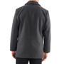 Alpine Swiss Vance Mens Wool Blend Button Up Coat