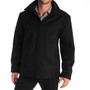 "Alpine Swiss Grant Mens Wool 28"" JD Zip Open Front Jacket"