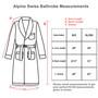 Alpine Swiss Aiden Mens Cotton Terry Cloth Bathrobe Shawl Collar Velour Spa Robe