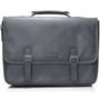 "Alpine Swiss Genuine Leather 15.6"" Laptop Briefcase Flap Over Messenger Bag"