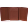 Alpine Swiss RFID Mens Theo Trifold Wallet Deluxe Capacity With Divided Bill Section