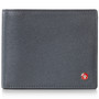 Alpine Swiss RFID Mathias Mens Wallet Deluxe Capacity Passcase Bifold With Divided Bill Section