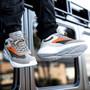 Alpine Swiss Stuart Mens Chunky Fashion Sneakers